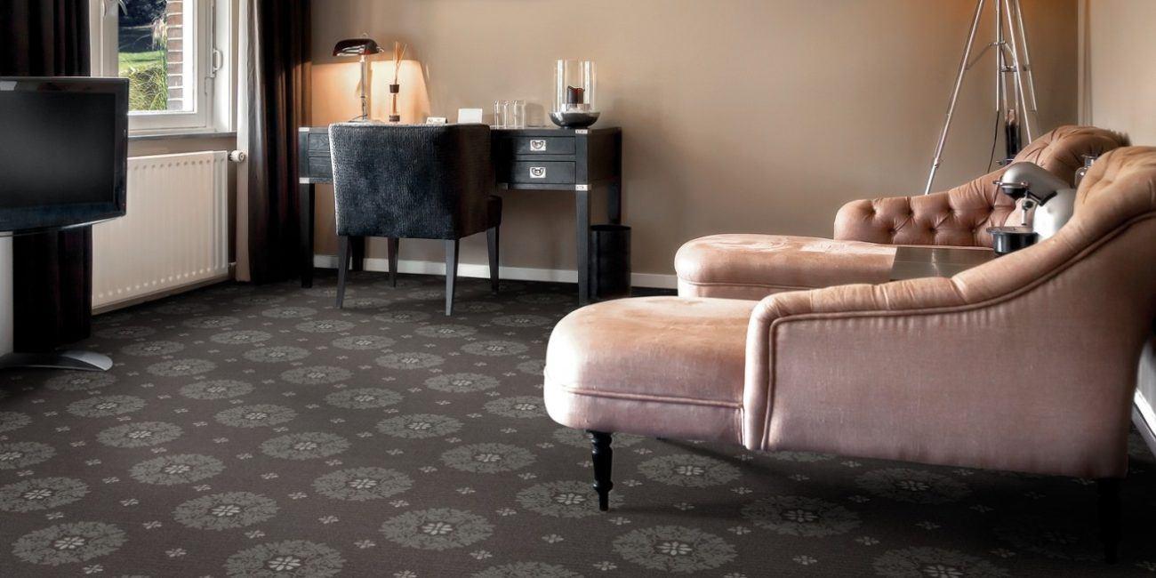 interior of luxury hotel lounge room