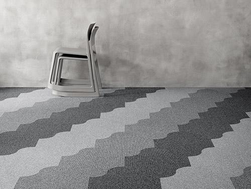 Mocheta Trafic Intens - Mocheta Colectia Wave Contra Stripe by EGE | Carpet&More