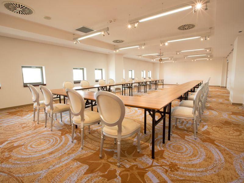 Mocheta Personalizata - Mocheta Hotel - Sala Conferinta Hotel International Iasi | Carpet & More