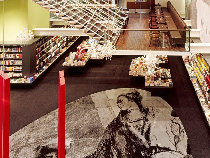 Mocheta Personalizata - Mocheta EGE Carpets - Hugendubel Buchhandlungen, Germania