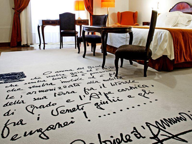 Mocheta Personalizata - Mocheta EGE Carpets - Junior suite Hotel, DANNUNZIO