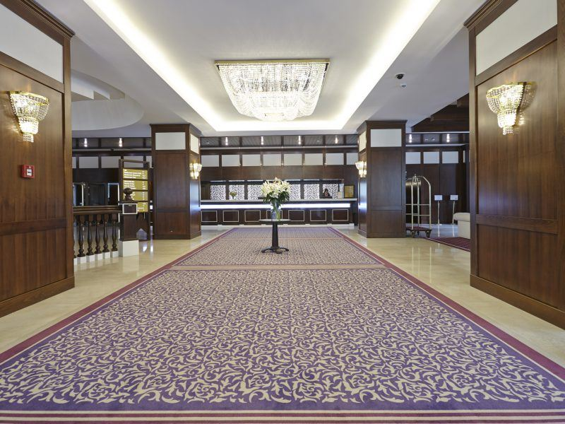 Mocheta personaliza - Mocheta Hotel International Sinaia | Carpet & More