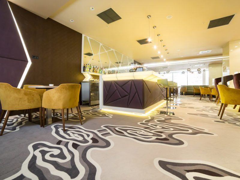 Mocheta personaliza - Mocheta Restaurant Lounge Hotel Ramada Craiova | Carpet & More