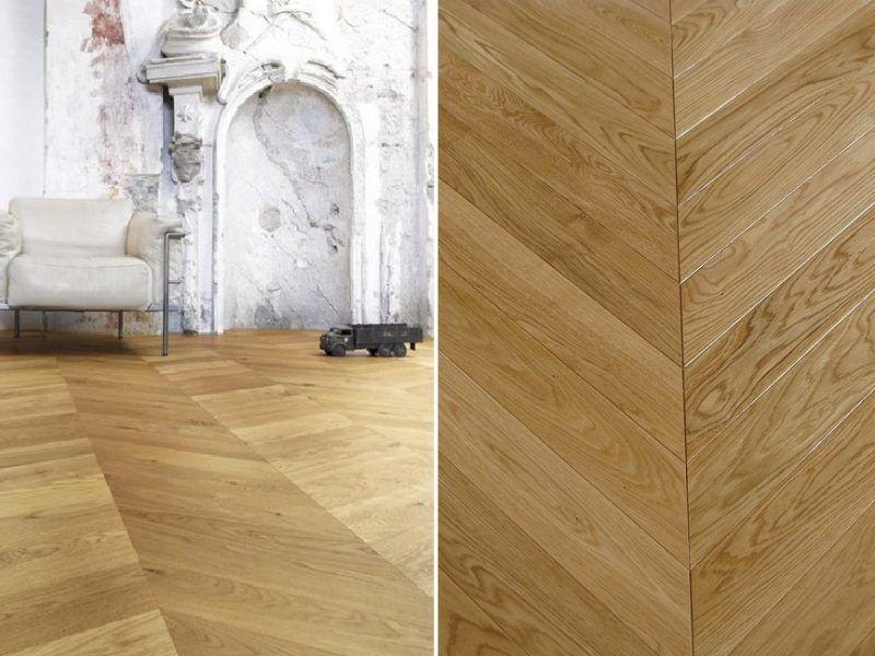 Parchet Dublustratificat - Parchet Stejar Colectia Chevron | Carpet&More