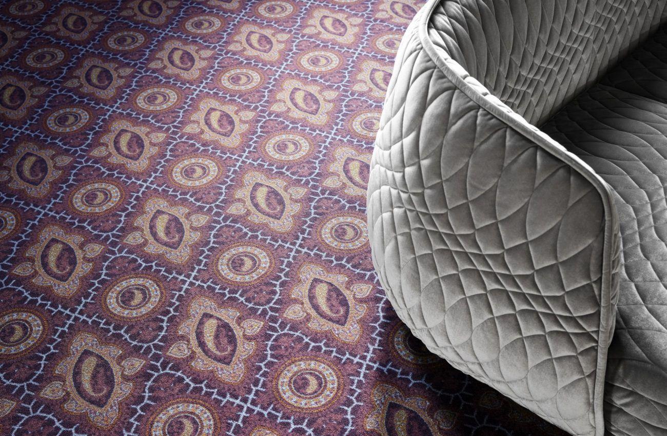 Mocheta trafic intens Cultures Kashmir by EGE carpets