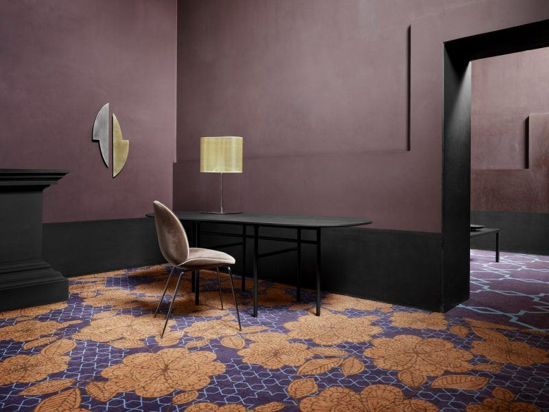 Mocheta Trafic Intens Cultures Ancient Flower by EGE Carpets | Carpet & More