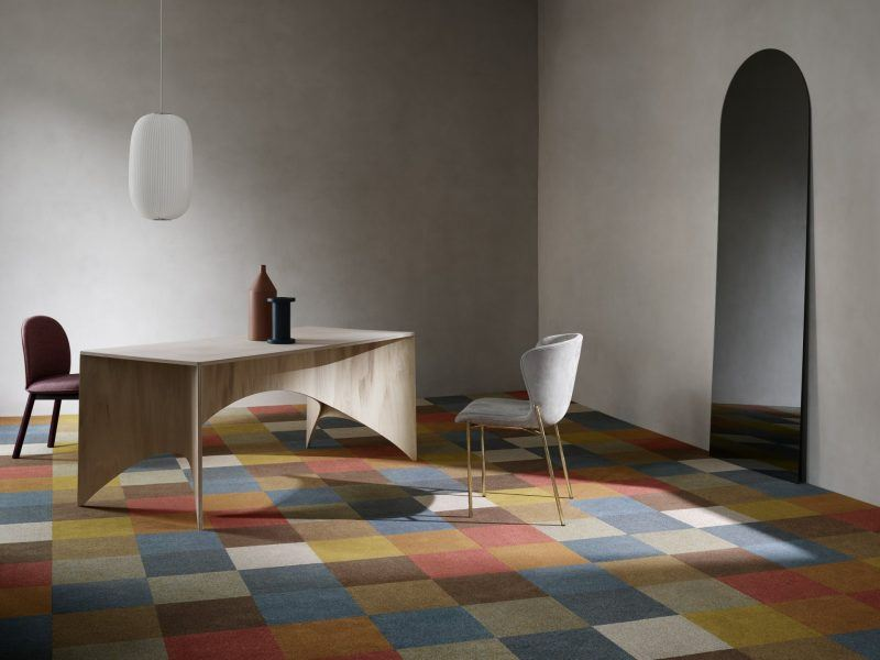 Mocheta trafic intens Essentials Check Plaid by EGE Carpets | Carpet & More