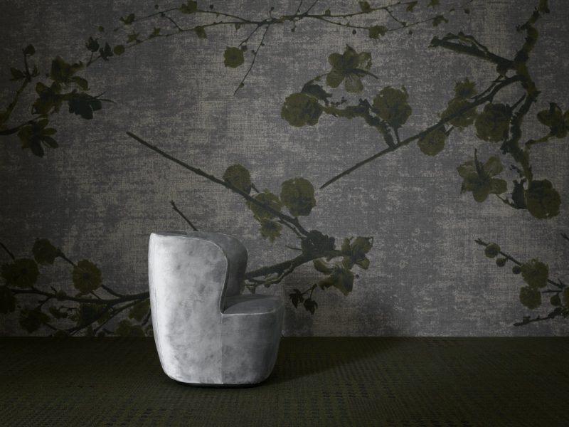 Mocheta Rola Birou Rawline Scala Velvet Bloom